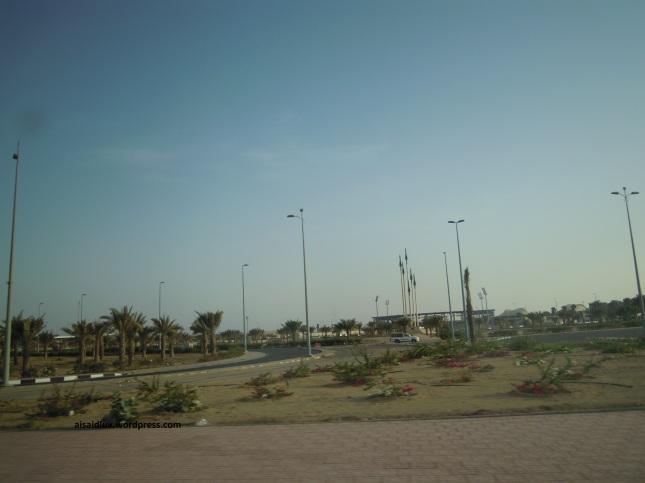 DSCN1394 Taman Kota yang cantik di Jeddah