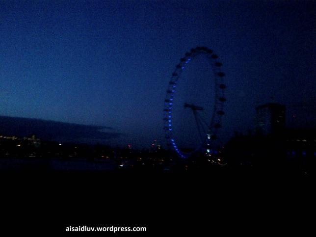 IMG-20140813-01593 - Malam  menyambut kedatangan kami di London