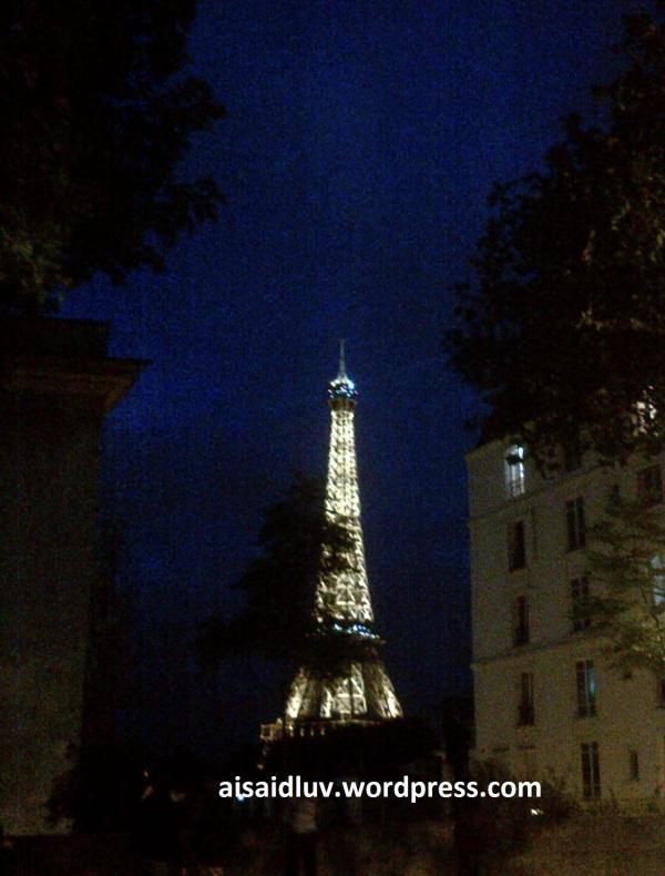 IMG-20140817-01765 - Eiffel Tower - Menara Eiffel di malam hari