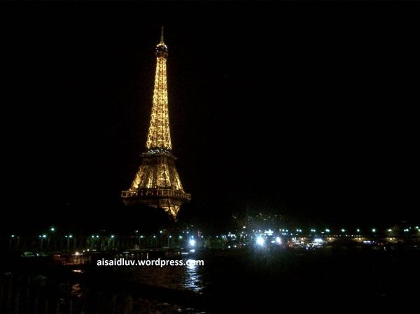 IMG-20140817-01774 - Lampu dan cahaya dari Menara Eiffel