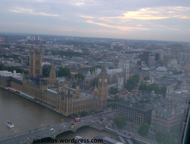 Lambeth-20140815-01731 big ben from London eye