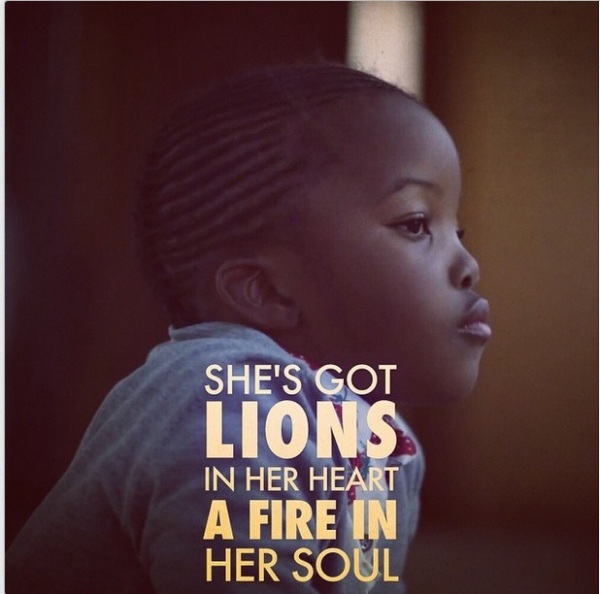 She's Got Lion In Her Hearts #THESCRIPT #SUPERHEROES