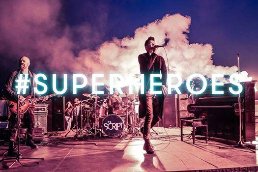 SUPERHEROES BY THE SCRIPT