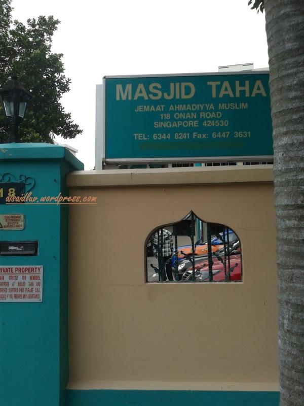20150102_140540 masjid Taha - Singapura
