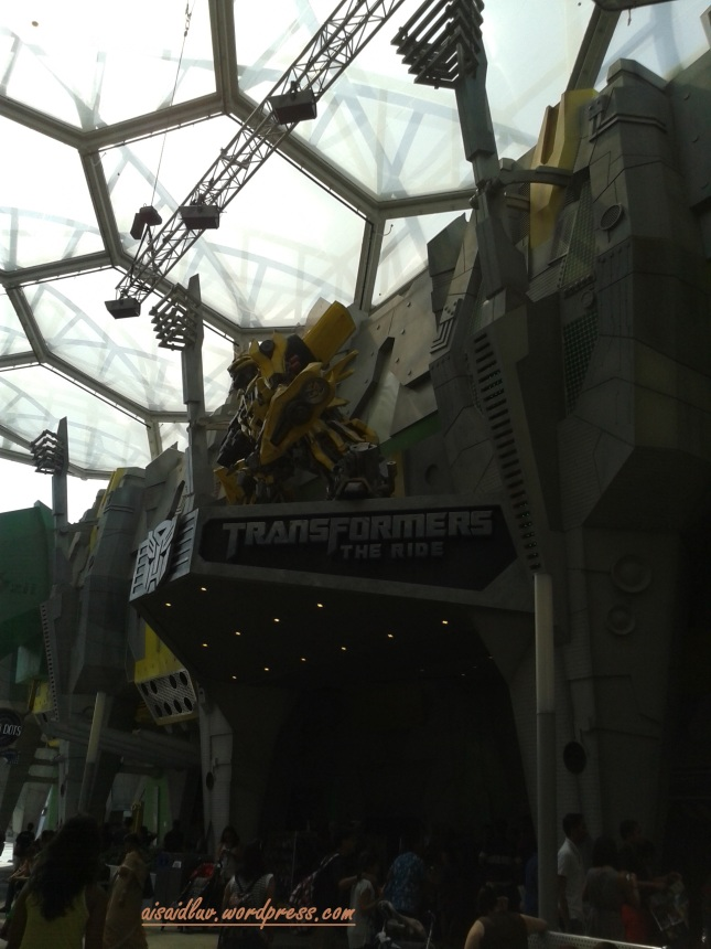 20150103_110434 TRANSFORMERS THE RIDE - USS