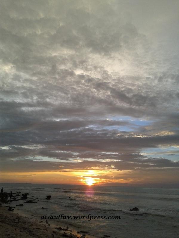20150403_175858 sunset Tanjung Lesung