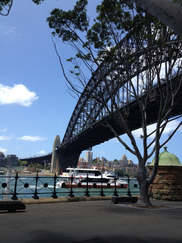 Harbour bridge Sydney_jembatan harbour