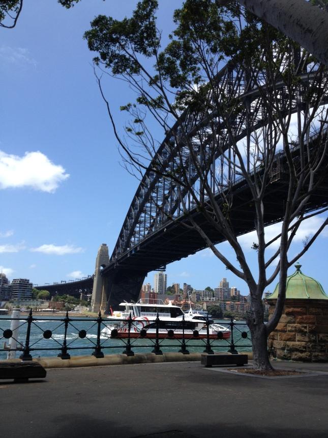 Harbour bridge Sydney_jembatan harbour