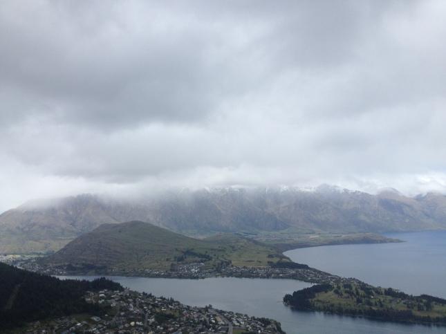 View setelah sampai ke atas dan turun dari gondola 😍