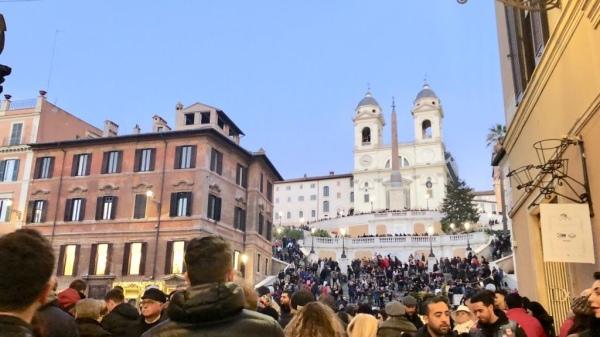 spanish step - Rome